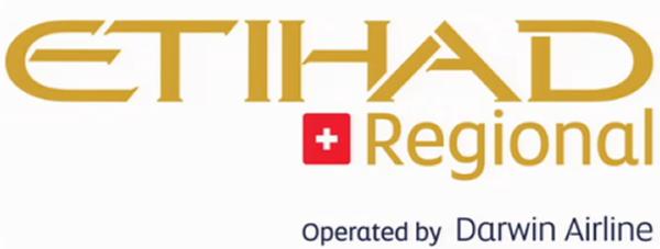 Etihad Regional (operated by Darwin Airline)